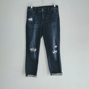 Chicos The So Slimming Girlfriend Crop Jeans 00